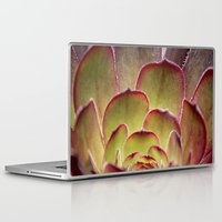 succulent Laptop & iPad Skins featuring Succulent by Shy Photog