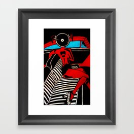 Zappa chic  Framed Art Print