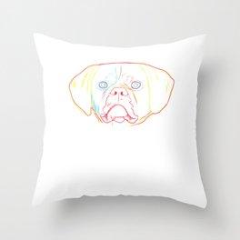 Spalsh Puggle Dog Throw Pillow