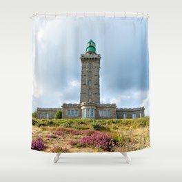 Cap Frehel Lighthouse Shower Curtain