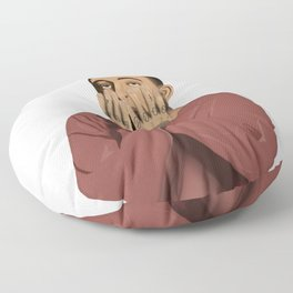 Mac Miller Memorial Illustration Floor Pillow