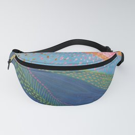 """""""Corales"""" Marisa Moscoso Fanny Pack"""