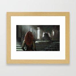 Heart of the Fae Framed Art Print