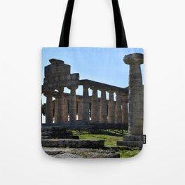 paestum i templi Tote Bag