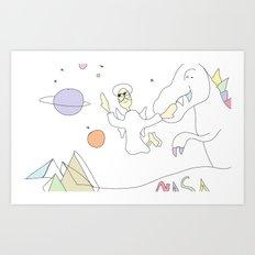 Funland 6 Art Print