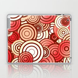 Layered random circles Laptop & iPad Skin