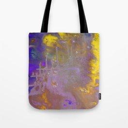 Blue & Yellow Tote Bag