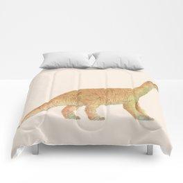 Diplodocus Dinosaur Toy - Watercolors Comforters