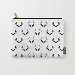 Deer horns pattern Carry-All Pouch