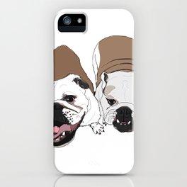 English Bulldogs iPhone Case