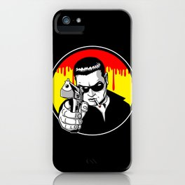 Pulp Criminal iPhone Case