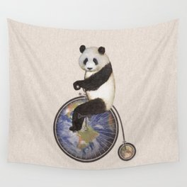 Penny Makes the World Go Around Wall Tapestry