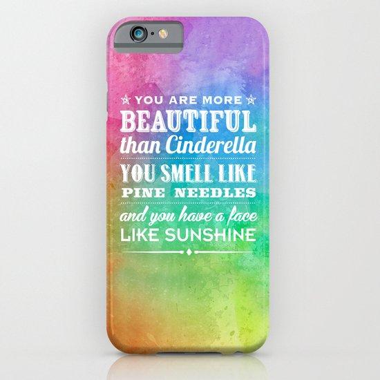 Sunshine Face iPhone & iPod Case