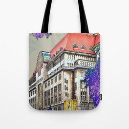 Shopping in Berlin Tote Bag
