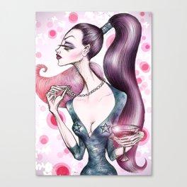 Cocktail Party Canvas Print