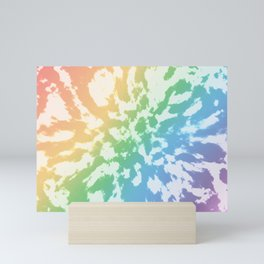 Rainbow Tie-Dye Mini Art Print