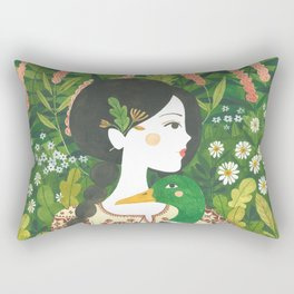 Wild Duck Rectangular Pillow