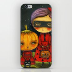 Trick Or Treating iPhone & iPod Skin