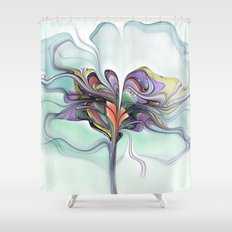 Butterfly Tree Shower Curtain