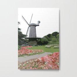 Dutch Windmill - Golden Gate Park Metal Print