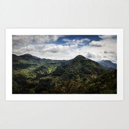 Cerro de Guadalupe Art Print