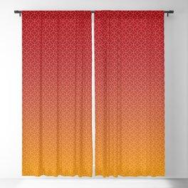 Modern Geometric Gradient 001 Blackout Curtain