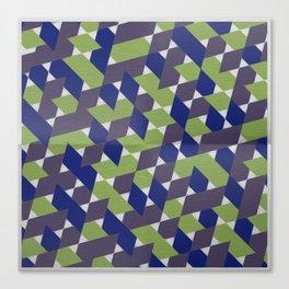 Green-Blue-Purple  Canvas Print