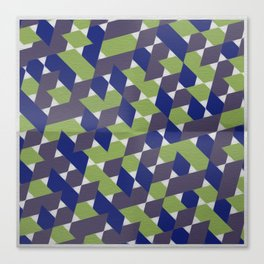 Green-Blue-Purple  Canvas Print