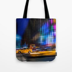 A colorful town Tote Bag