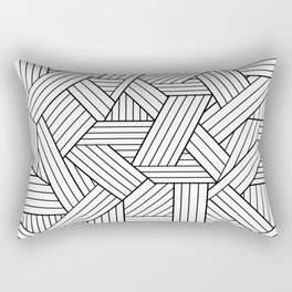 Infatuation #pattern #minimal Rectangular Pillow