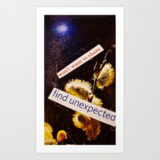 Pollinated  Art Print