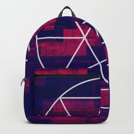 Glitch Mandala Backpack