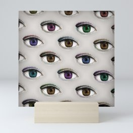 I ONLY HAVE EYES FOR YOU Mini Art Print