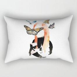She is sensitive, but strong Rectangular Pillow