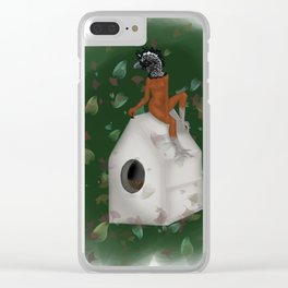 The Great Curassow Clear iPhone Case