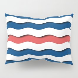 wave life pattern Pillow Sham