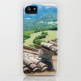 Umbrian landscapes iPhone Case