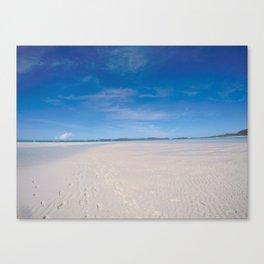 Whitehaven beach Canvas Print
