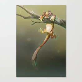 Gecko Correlophus Ciliatus Canvas Print