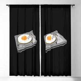 Egg Scratch Blackout Curtain