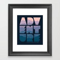 Adventure (Isn't really my thing...) Framed Art Print