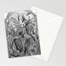 Underwater ink illustration Stationery Cards