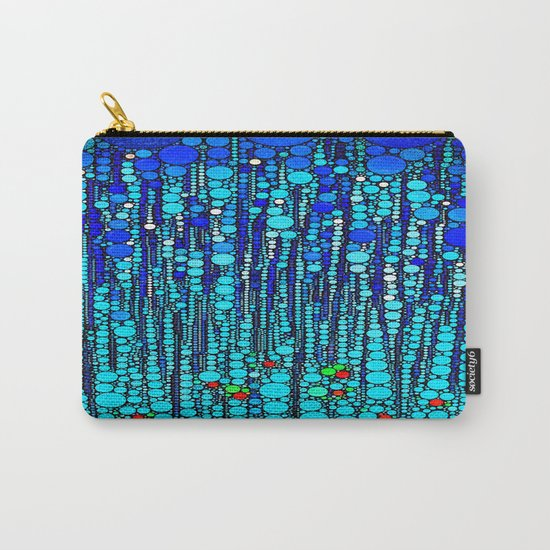 :: Blue Martini Celebration :: Carry-All Pouch