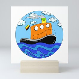 Rub N Tugboat- ARO OR Mini Art Print