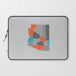 Arizona State Map Print Laptop Sleeve