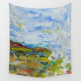 Mt. Pollux Abstract Wall Tapestry