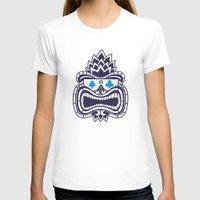 tiki T-shirts featuring Tiki by Lorenzo Pinna