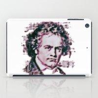 beethoven iPad Cases featuring Beethoven by Zandonai