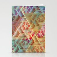 geo Stationery Cards featuring Geo by Ashley Keeley