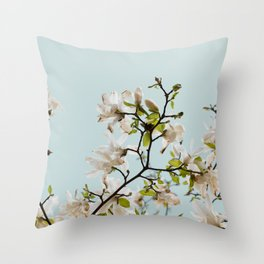 Blossoming tree Throw Pillow